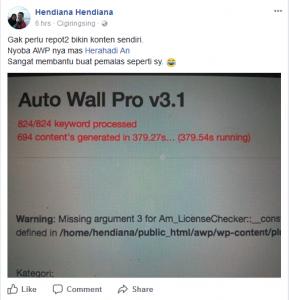 testimoni auto wall pro